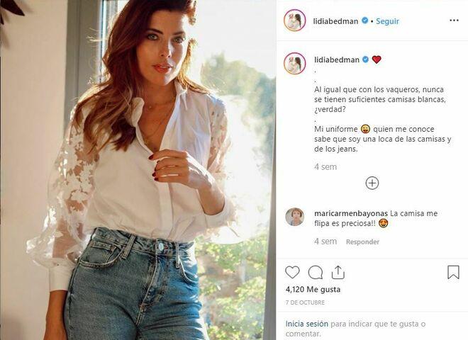 La mujer de Abascal, Lidia Bedman Lapeña, es influencer.