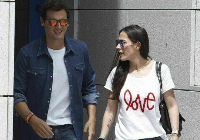 Albert Rivera y su novia, la cantante Malú.