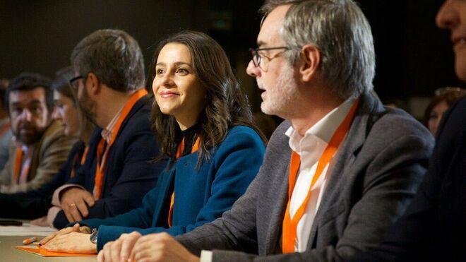 Inés Arrimadas en el Congreso General de Ciudadanos de hoy en Madrid.