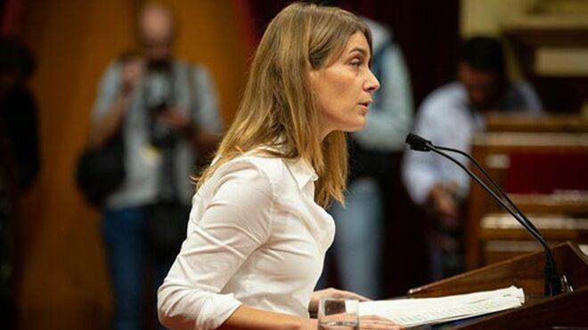 Jéssica Albiach, portavoz de En Comú-Podem.