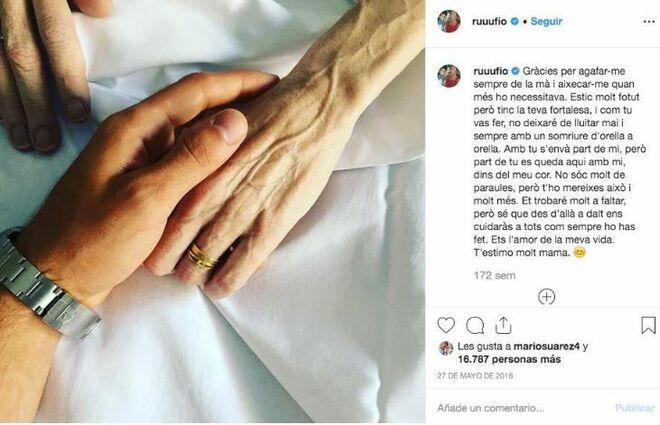Ricky Rubio ha escrito una emotiva carta sobre la muerte de su madre