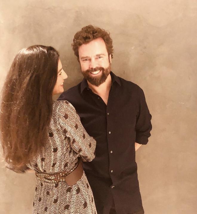 Rocío Monasterio y su marido