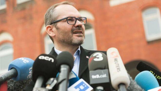 El vicepresidente primero del Parlamento catalán, Josep Costa (JxCAT).