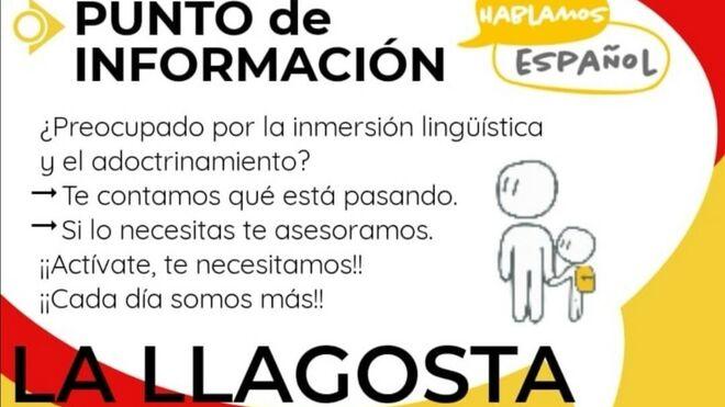Acto convocado por Hablamos  Español.