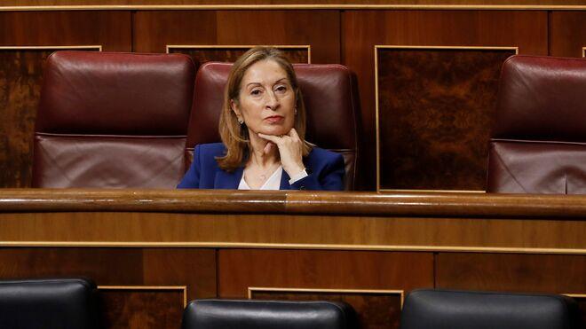 Ana Pastor en el Congreso.