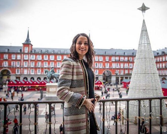 Inés Arrimadas, embarazada