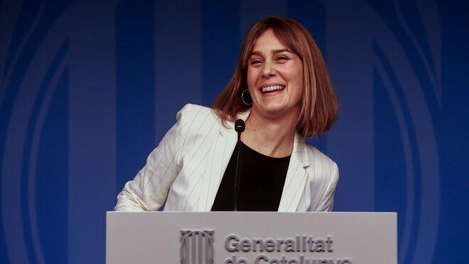 Jéssica Albiach, líder de En Comú-Podem.