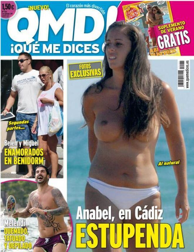 Anabel Pantoja en QMD