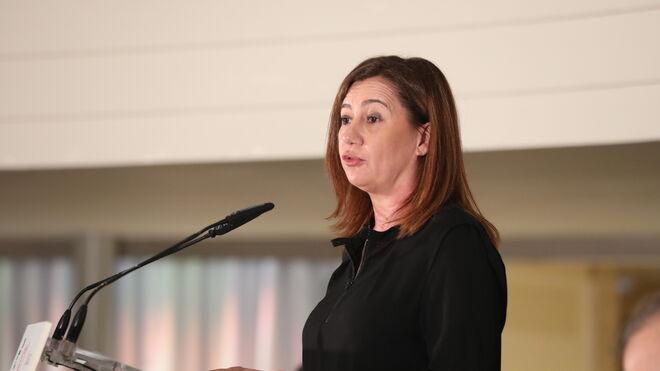 La presidenta del Gobierno de Islas Baleares, Francina Armengol