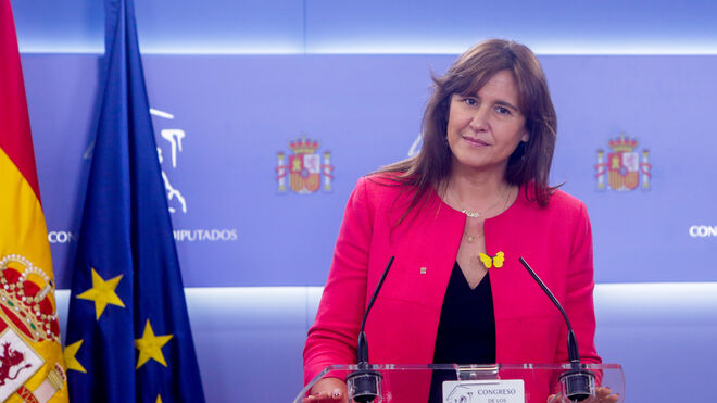 La portavoz del Grupo Junts per Catalunya en el Congreso de los Diputados, Laura Borràs.