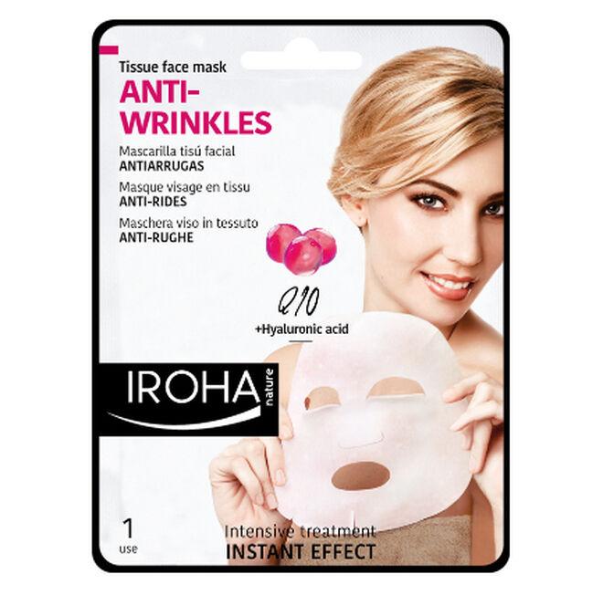 Mascarilla facial Anti - Wrinkles. PVP:  3.95€
