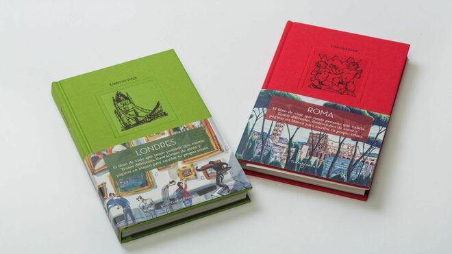 Tintablanca, ejemplares de las ciudades de Londres y Roma.