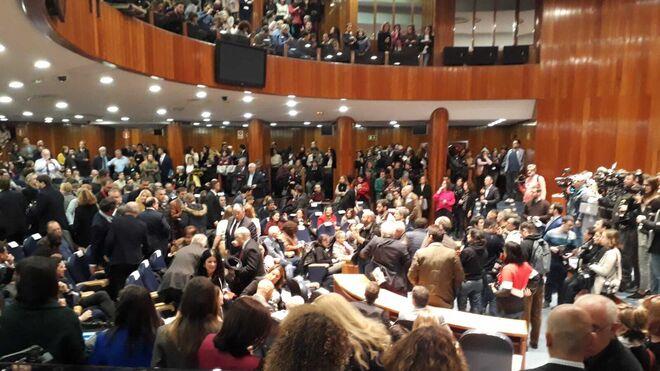 Toma de posesión de Pablo Iglesias en el Ministerio de Sanidad
