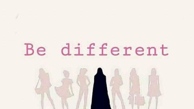 Uno de los carteles del Día Mundial del Hijab