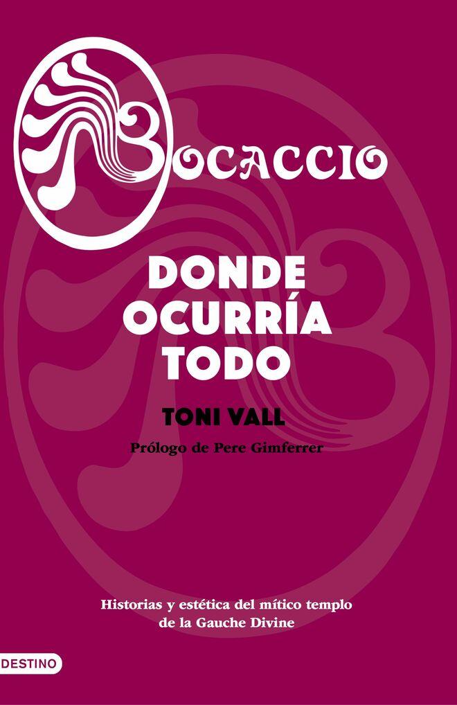 Un detall de la portada del libro de Toni Vall sobre la mítica 'Bocaccio'.