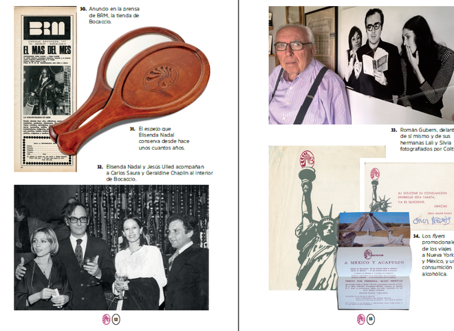 Algunas de las imágenes recogidas en el libro.