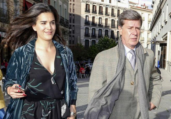 Bárbara y Cayetano en 2019