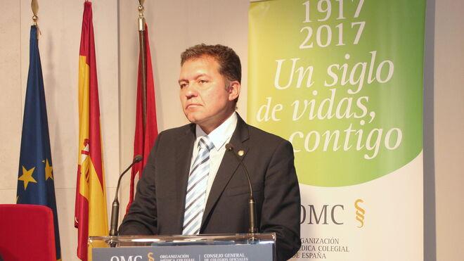 Enrique Roviralta, presidente del Colegio de Médicos de Ceuta