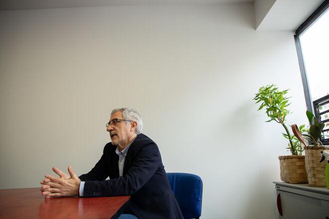 Gaspar Llamazares en entrevista con Vozpópuli