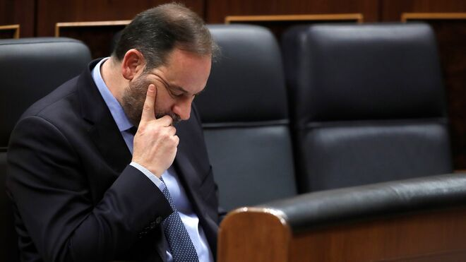 José Luis Ábalos en el Congreso de los Diputados