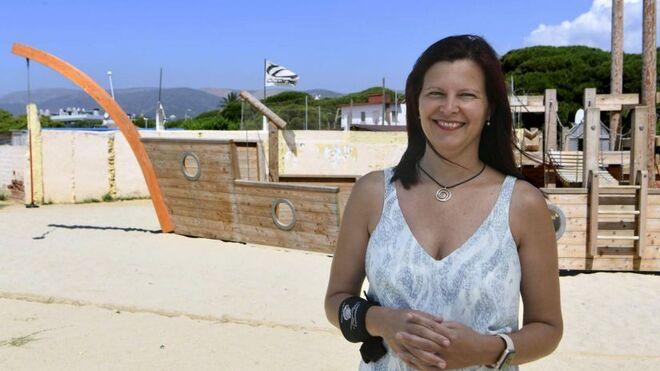 Maria Miranda, alcaldesa de Castelldefels.