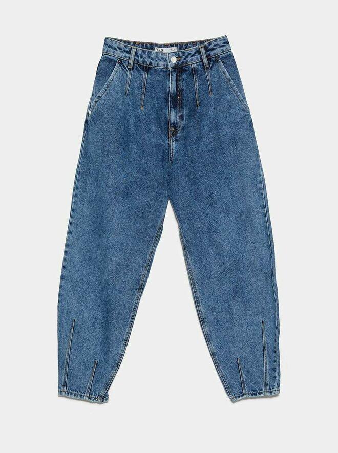 Pantalones vaqueros con pinzas. PVP: 29.95€