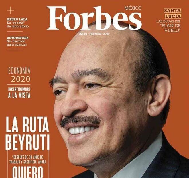 Portada de 'Forbes México', enero de 2020.