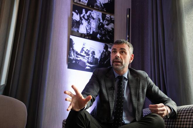 Santi Vila en entrevista con Vozpópuli