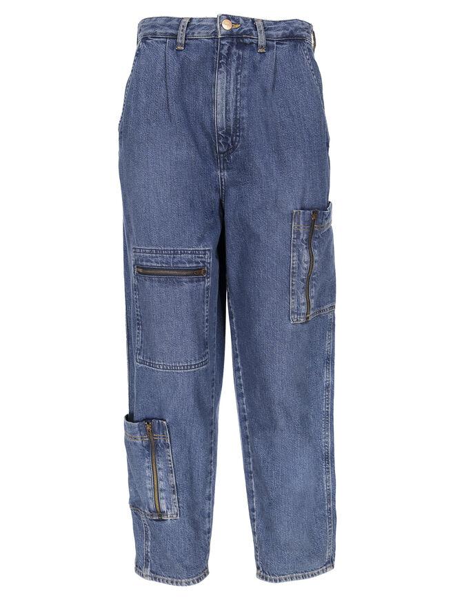 Vaqueros con bolsillos laterales. PVP: 109.95€