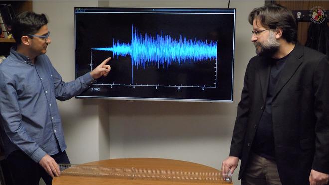 Vedran Lekic y Nicholas Schmerr explican las ondas captadas por el sismómetro