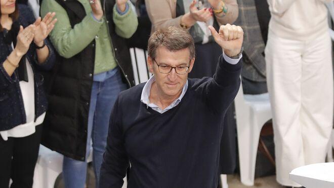 El presidente de la Xunta y líder del PPdeG, Alberto Núñez Feijóo.