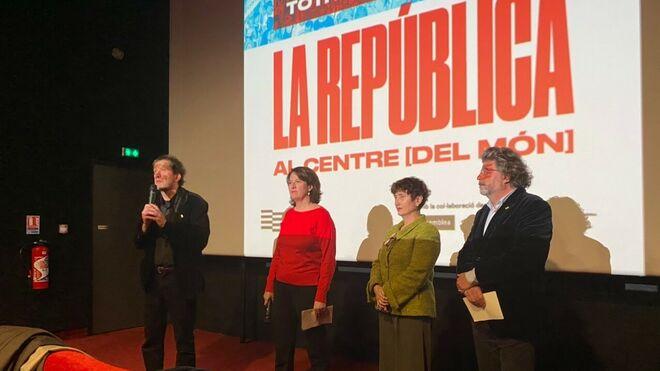 El Consell per la República organizó el acto multitudinario de Perpignan.