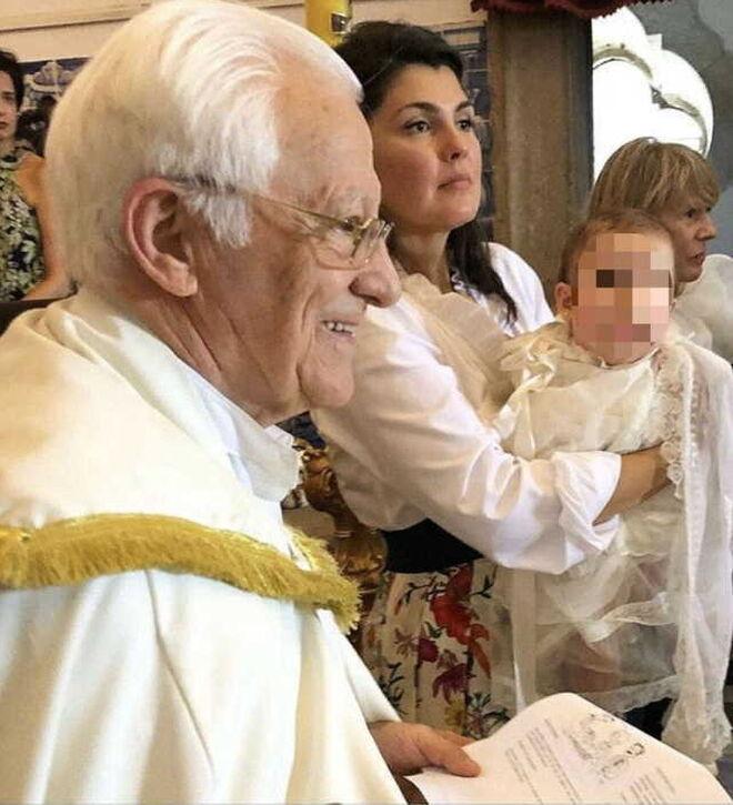 El bautizo de la hija de Marcos de Quinto