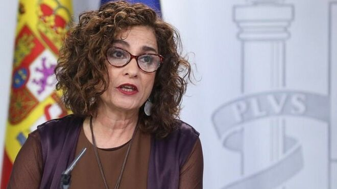 La ministra de Hacienda y portavoz, María Jesús Montero
