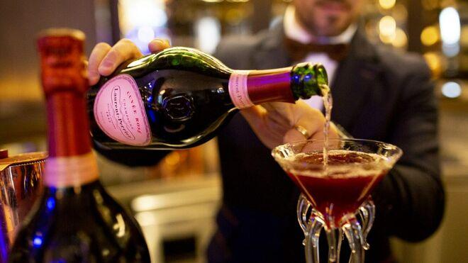 Un 'pink tail' en el Gran Hotel Inglés.