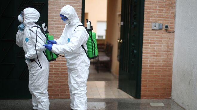 El Ejército actúa ante la crisis del coronavirus