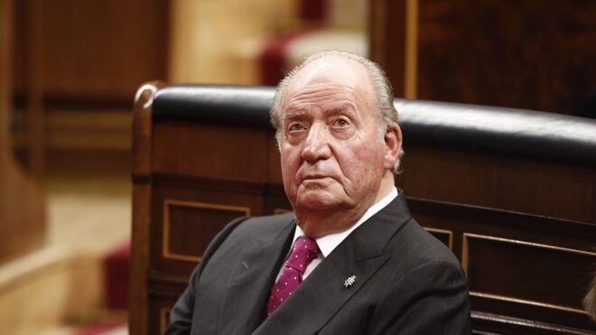 El rey emérito Juan Carlos de Borbón, en el Congreso de los Diputados, en una imagen de archivo.