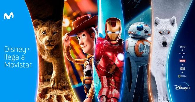 Movistar será el aliado de Disney en España