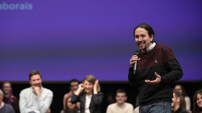 El vicepresidente del Gobierno y secretario general de Podemos, Pablo Iglesias.