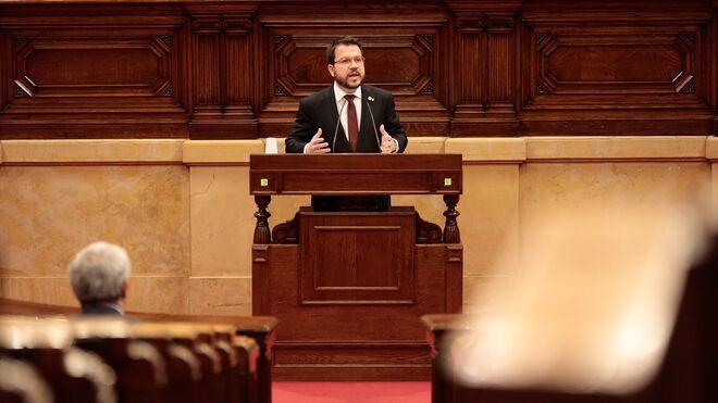 El vicepresidente del Govern y conseller de Economía y Hacienda, Pere Aragonès