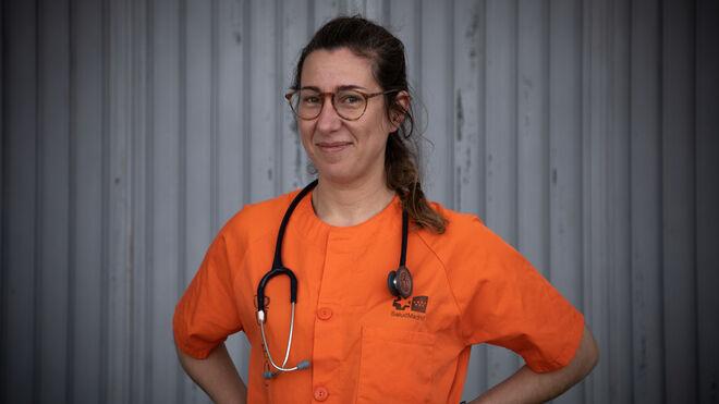 Marina, doctora en el Hospital de IFEMA