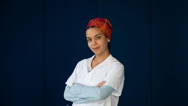Mónica, enfermera en el Hospital de IFEMA