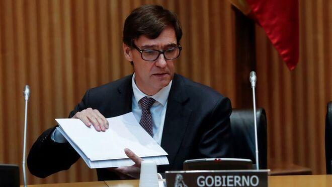 El Supremo descarta tumbar de urgencia la orden firmada por el ministro de Sanidad, Salvador Illa.