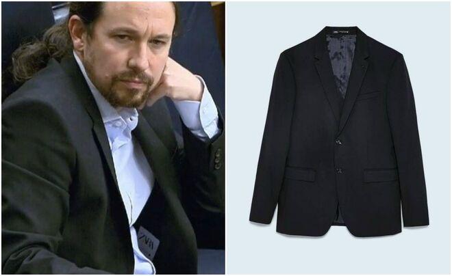 La blazer de Pablo Iglesias, de Zara