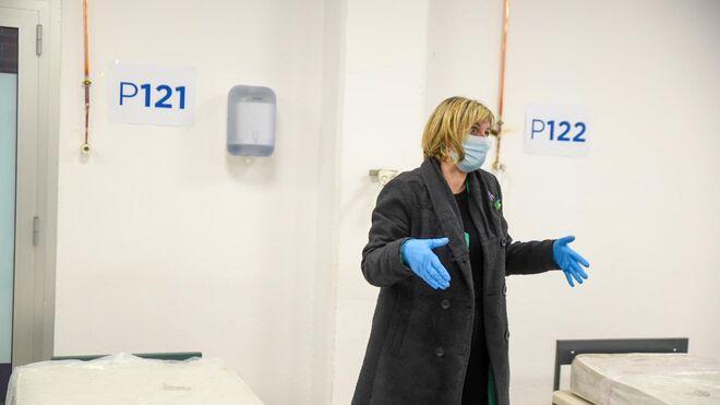 La consejera de Salud, Alba Vergés (ERC).