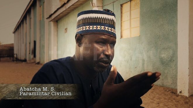 Un líder paramilitar que apoya al Gobierno en su lucha contra Boko Haram