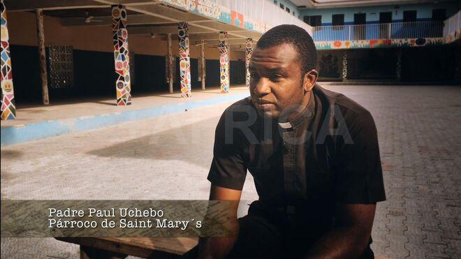 Un sacerdote cristiano nigeriano
