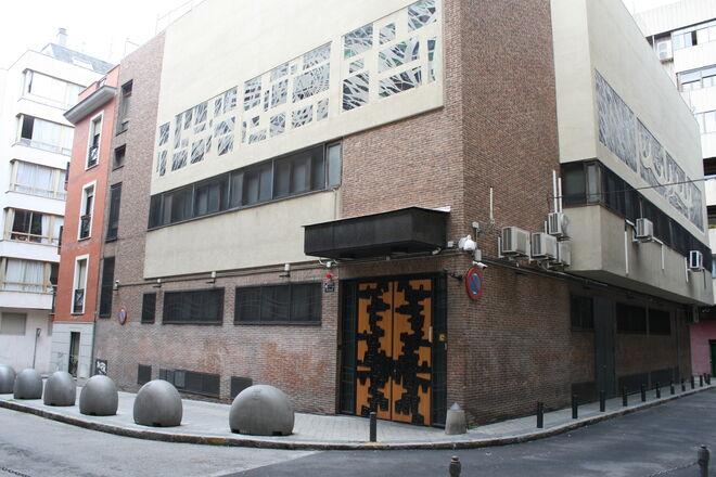 La sinagoga de Madrid, cerrada durante el confinamiento