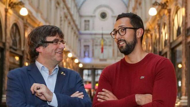 Carles Puigdemont y Valtonyc, en una imagen de archivo.