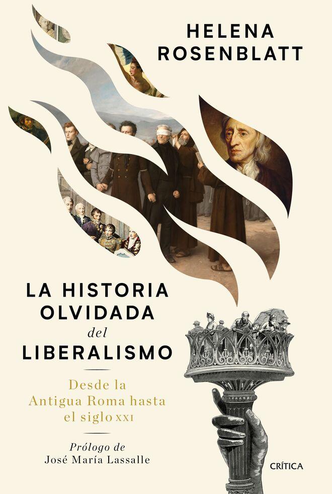 Un detalle de la portada de 'Historia olvidada del liberalismo', publicado por Crítica.